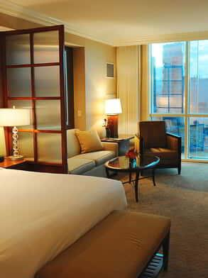One Bedroom Balcony Suite The Signature At Mgm Grand